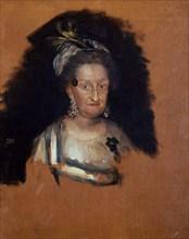 Goya, Portrait de l'Infante Maria Josefa