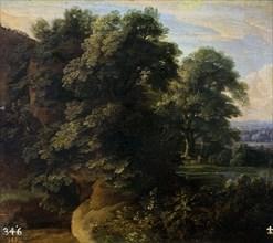 Arthois, Paysage avec un Lac
