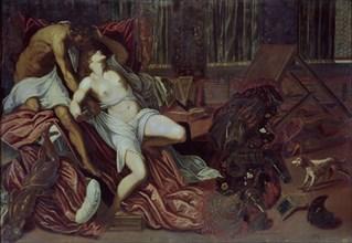Le Tintoret, Violence de Tarquin