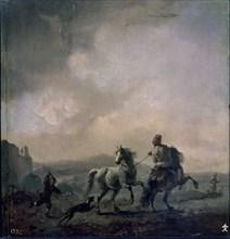 Wouwerman, Les Deux Chevaux
