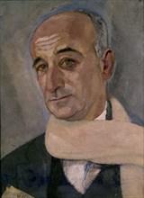 Vazquez Diaz, Portrait de Max Jacob
