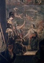 Velázquez, Las Hilanderas (detail)