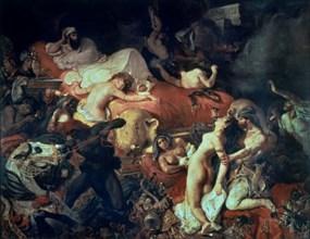 Delacroix, La mort de Sardanapale