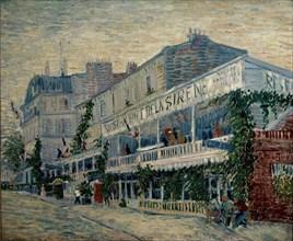 Van Gogh, The Restaurant de la Sirène at Asnières