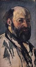 Cézanne, Portrait de l'artiste