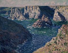 Monet, Les Rochers de Belle-Ile