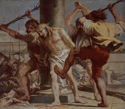Tiepolo (fils), Le Christ attaché à la colonne