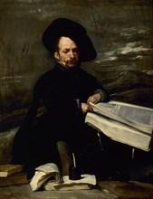 Velázquez, The Jester Don Diego de Acedo