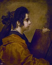 Velázquez, A Sybil (Juana Pacheco?)