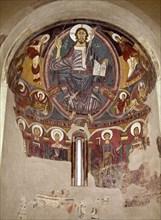Christ Pantocrator de saint Clément de Tahull