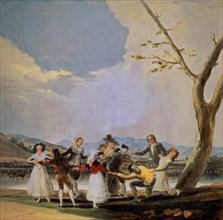 Goya, Colin-Maillard