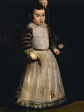 Velázquez, Doña Antonia de Ipeñarrieta y Galdós and Her Son Don Luis (detail)