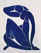 "Matisse, ""Nu bleu II"""