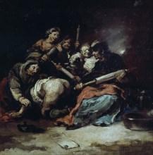 Lucas Velázquez , Le lavement