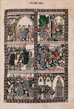 Cantique de Santa Maria, La Vierge sauvant un cavalier à la bataille de San Esteban de Gormaz