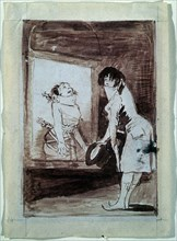Goya, La torture du dandy