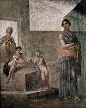 Timomaque de Byzance, Médée s'apprêtant à tuer ses enfants