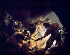 Rembrandt, Samson aveuglé par les Philistins