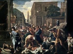 Poussin, La peste d'Asdod