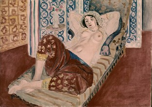 "Matisse, ""Odalisque à la culotte rouge"""