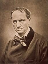 Carjat, Portrait de Baudelaire