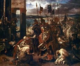 Delacroix, Prise de Constantinople par les croisés, le 12 avril 1204