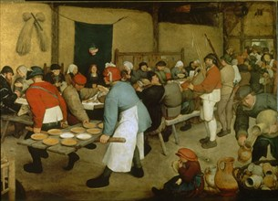 Brueghel the Elder, The Peasant Wedding