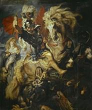 Rubens, Saint Georges luttant contre le dragon