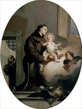 Tiepolo, Saint Antoine de Padoue