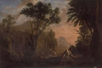 Gellée, Paysage avec Saint Onuphre
