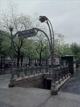 Station Bréguet-Sabin du métro parisien