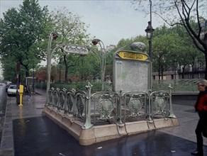 Station de métro Bréguet-Sabin à Paris