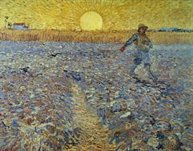 Van Gogh, Le Semeur au Soleil Couchant