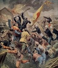 Guerre en Chine et victoire française