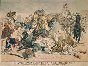 Convoi français attaqué par des Marocains
