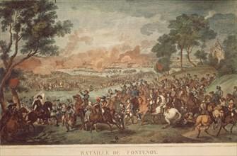 La Bataille de Fontenoy le 11 mai 1745