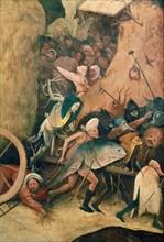 Bosch, Le Chariot de foin (détail)