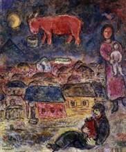 Chagall, La nuit