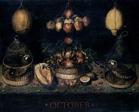 Vélasquez, Nature morte relative au mois d'Octobre