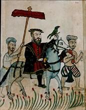 Vasco de Gama à cheval