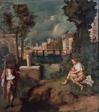 Giorgione, La Tempête