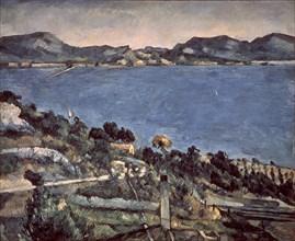 Cézanne, L'Estaque : vue du Golfe de Marseille