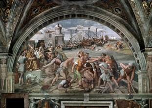 Raphaël, La Bataille d'Ostie