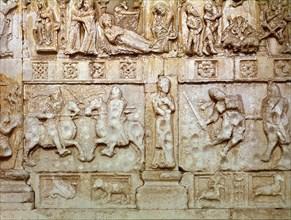 Combat entre Théodoric le Grand et Odoacre