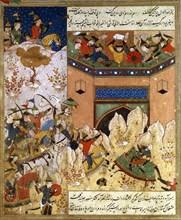 Conquête de l'Inde par Tamerlan en 1398