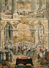 Derrais, Mariage de Louis XVI et Marie-Antoinette à Versailles