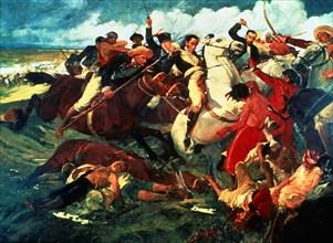 Salas, Bataille de Auraure