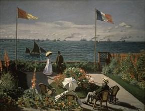 Monet, Terrasse à Sainte-Adresse