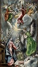 Le Greco, L'Annonciation