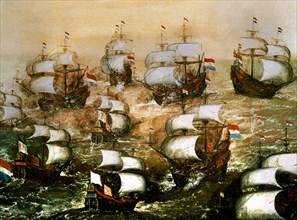 Combat naval de l'Invincible Armada
